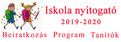 Iskola nyitogató 2018-19